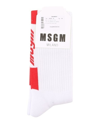 Msgm Çorap Kırmızı